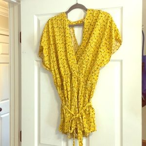 Cute romper new without tags! Never wore! Size XL